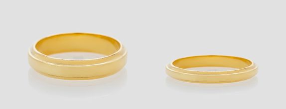Union Ring - 18K Gold