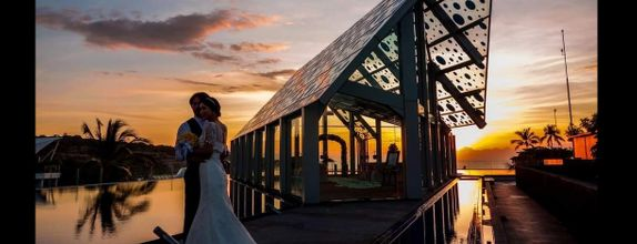 Elevated Sunset Wedding