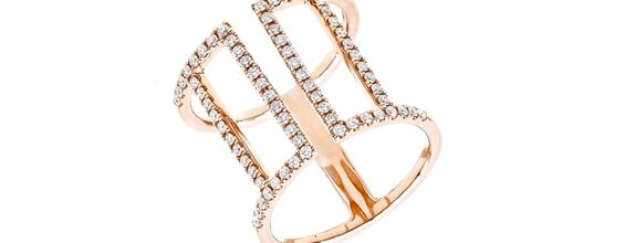 SIORAI Asceline Ring 03200792 Cincin Berlian Size 4-15 (Pre-Order)