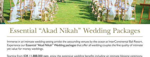 Special Package Akad Nikah