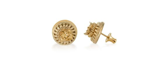 Canang Small Studs Gold Dip