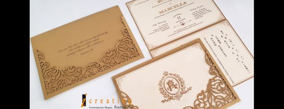 Paket 50pcs Simple Elegant Invitation 6