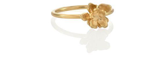 Flora Nirwana Ring Gold Dip