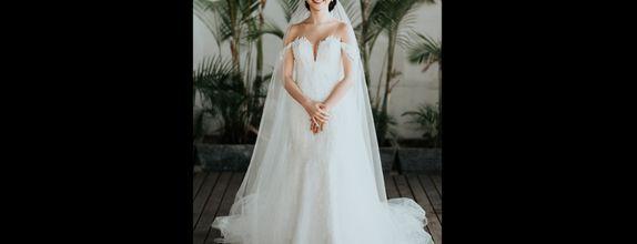 2 look Wedding gown - Custom rent