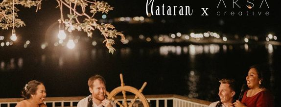 AKSA X Plataran Intimate Wedding Photo & Cinematic Video