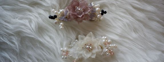 Hairpiece for prewedd/bridemaids hairpiece