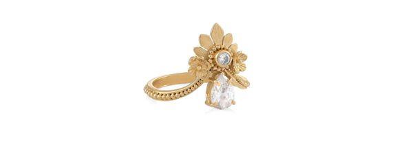 Mahkota Ring Gold Dip