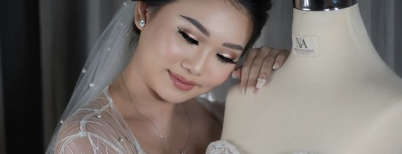 Wedding makeup by Agnes Ang