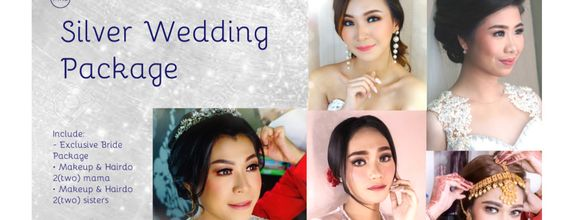 Silver Wedding Package (Bride, 2mama, 2 sisters)