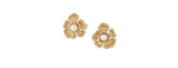 Katalia Stud Earrings Gold Dip