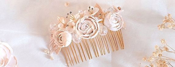 Lady Emma Rose Hairpiece