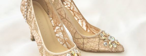 VINETTE - NUDE- 9cm - Wedding Shoes - Bride Shoes - Party Shoes