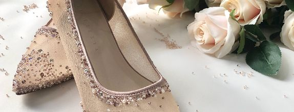 VINETTE - ROSEGOLD - Strap - 5cm - Wedding Shoes - Party Shoes