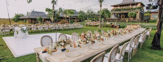 Rice Fileds Wedding including stay for 2 nights