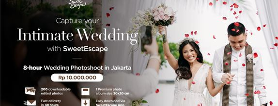 8-hour Intimate Wedding Package