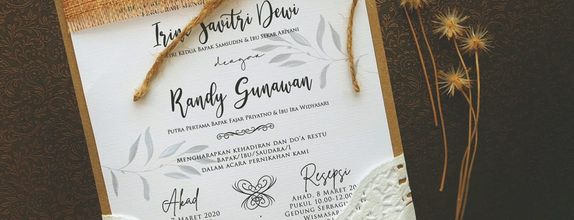 Vintage Invitation Type F