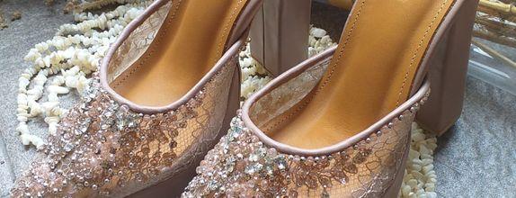 Wedding Shoes Emily Pink -  Luxury