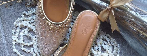 Wedding Shoes Sekar Gold - Custom Basic