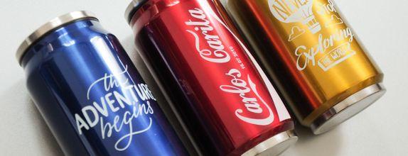 Stainless coke bottle - GLS 67