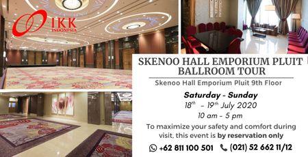 Skenoo Hall Emporium Pluit