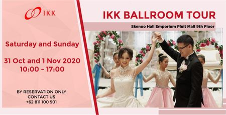 Skenoo Hall Emporium Pluit Mall Ballroom Tour