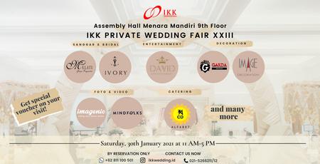 IKK PRIVATE WEDDING FAIR XXIII