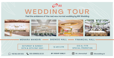 Wedding Tour by IKK Wedding