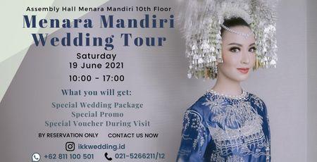 Assembly Hall Menara Mandiri Wedding Tour