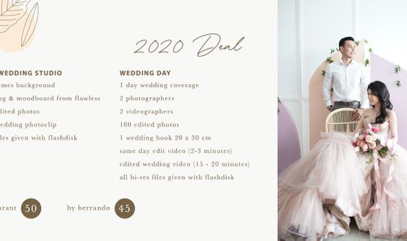 Studio Prewedding & Wedding Day Promo By Berrando Sangidi