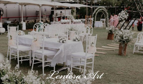 Lentera Art Decoration - Paket Minimalis (Intimate Wedding max 200pax)