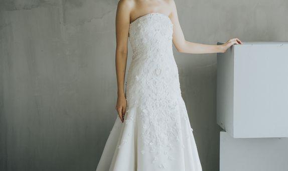 Grace Bridal Satin Wedding Gown