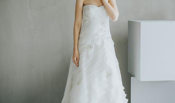 Donna Organza Layer Bridal Gown