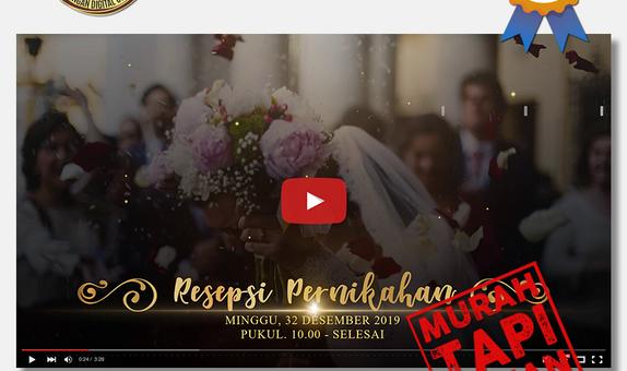 Video Wedding Invitation - FHDVIDEO-01