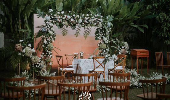 Dekorasi Simple Wedding, Simple Akad, Tunangan, Siraman dan Pengajian