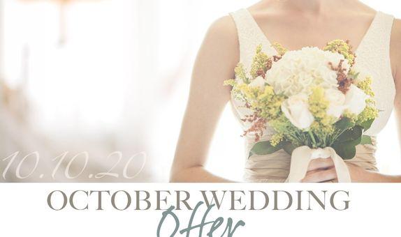 10.10.20 October Wedding Offer
