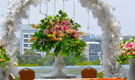 SILVER WEDDING PACKAGE ALL IN FOR 100 PAX