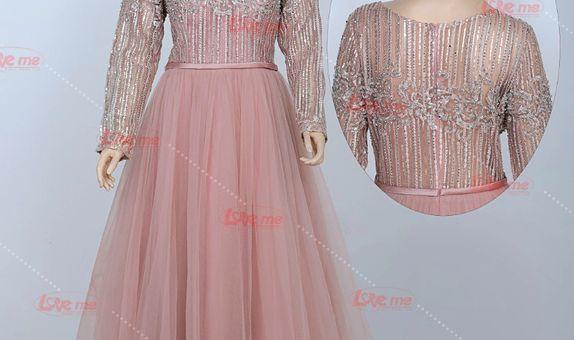 Gaun pesta pink 31997