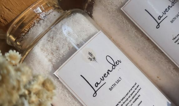 Bath Salts (cork bottle)