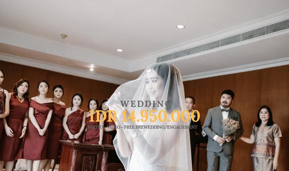 WEDDING PACKAGE FREE PREWEDDING/ENGAGEMENT