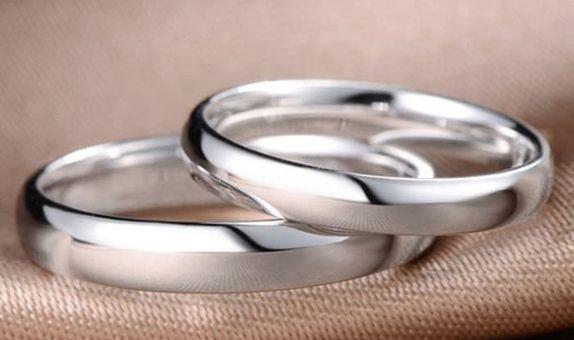 TIARIA Hidden Secret Diamond Wedding Ring Cincin Nikah Berlian
