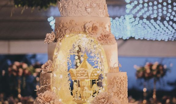 7-Tiers Dummy Wedding Cake