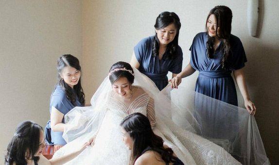 INFINITY DRESS BRIDESMAID MULTIWAY DRESS CONVERTIBLE DRESS