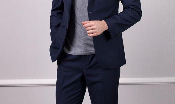 Navy Blue Suit | Jas Biru Dongker