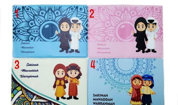 Cover Wedding Book Sampul Buku Nikah Document Organizer Pernikahan