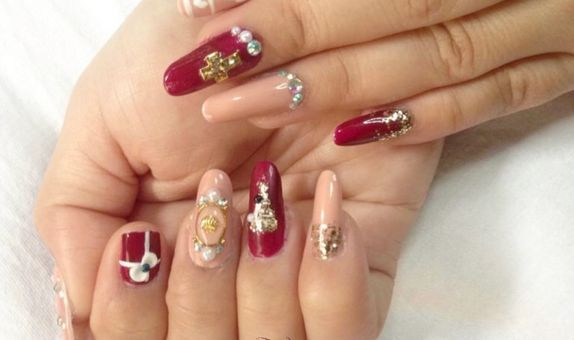 Pixie Dust Nail - Xmass nail extension