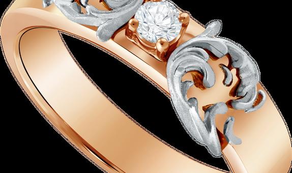 DP TEX SAVERIO WATER COLLECTION DIAMOND WEDDING RING (GROOM'S RING)