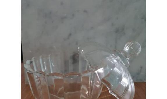 Crystal Jar Sweet Apple TG030 / Candy Jar / Toples Kaca / Jar Kaca