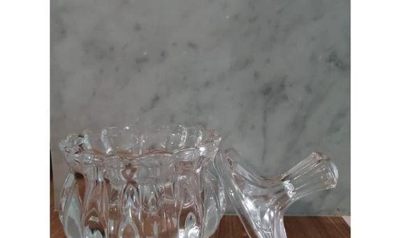 Crystal Jar TG012-1A Glowing Pine / Candy Jar / Toples Kaca / Jar Kaca