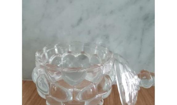 Crystal Jar Candy Jar TG012-3 / Candy Jar / Toples Kaca / Jar Kaca