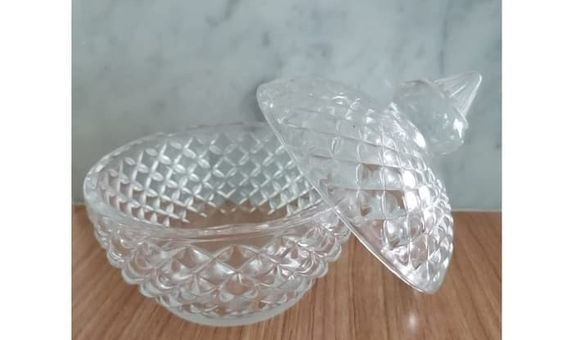 Crystal Jar Bluebery Sparkle TG16 / Candy Jar / Toples Kaca /Jar Kaca